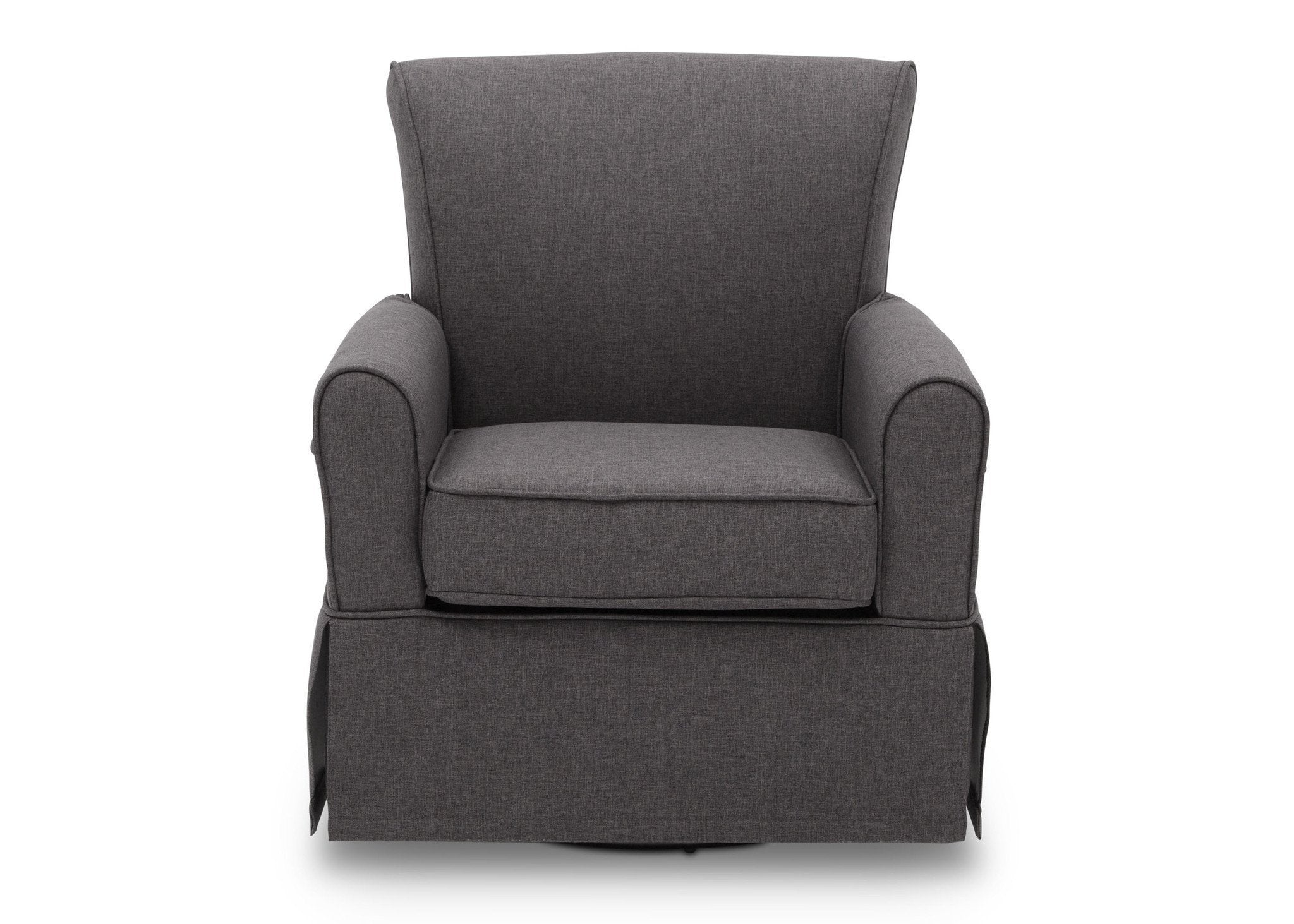 Delta Children Charcoal Grey (931) Epic Glider, Front View, e2e