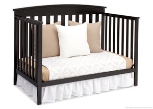 Delta Children Black (001) Gateway 4-in-1 Crib, Day Bed Conversion a5a
