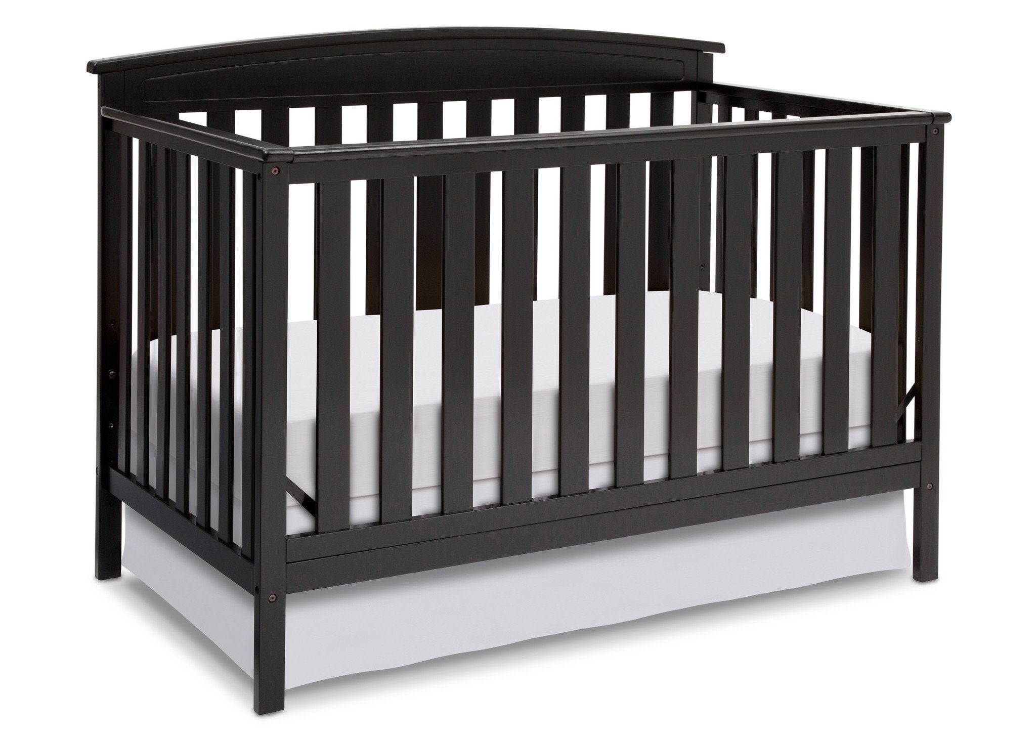 Delta Children Black (001) Gateway 4-in-1 Crib, Crib Conversion a3a