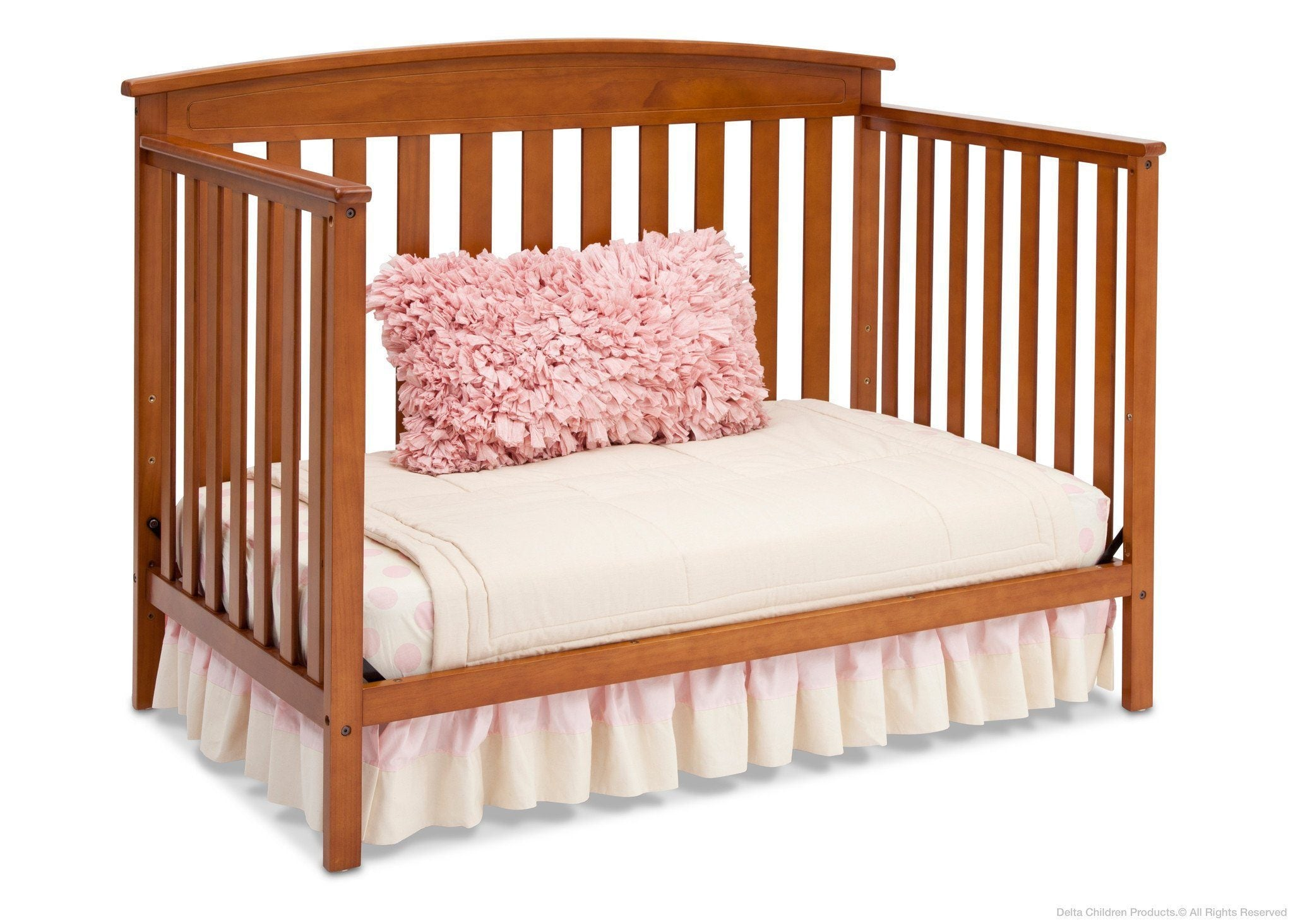 Delta Children Warm Honey (251) Gateway 4-in-1 Crib, Day Bed Conversion e5e