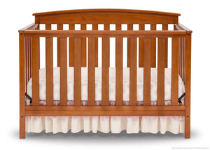Delta Children Warm Honey (251) Gateway 4-in-1 Crib, Crib Conversion Front View e2e