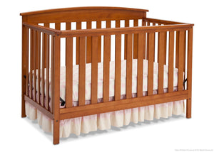 Delta Children Warm Honey (251) Gateway 4-in-1 Crib, Crib Conversion e3e