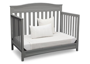 Delta Children Grey (026) Emery 4-in-1 Crib, Daybed View c5c