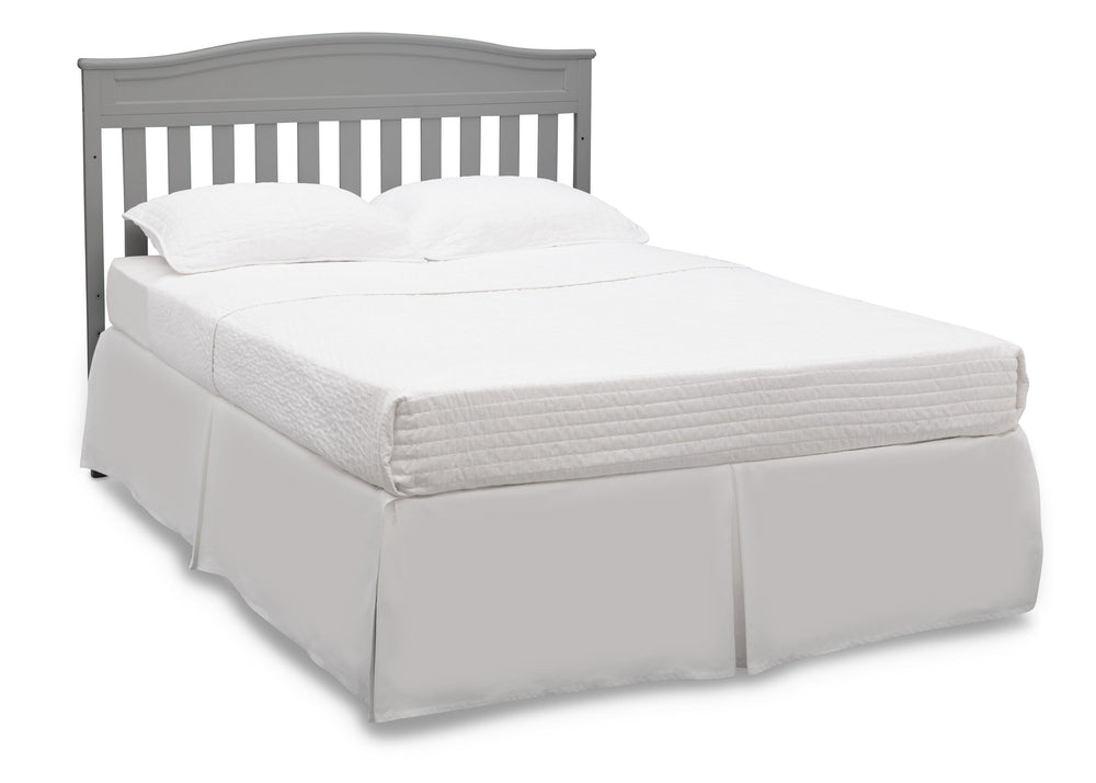 Delta Children Grey (026) Emery 4-in-1 Crib, Full Size Bed View c6c