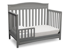 Delta Children Grey (026) Emery 4-in-1 Crib, Toddler Bed View c4c