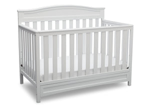 Delta Children White (100) Emery 4-in-1 Crib, Crib Conversion a3a