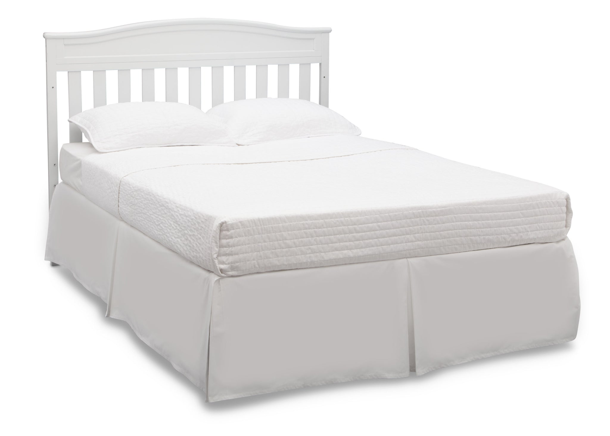 Delta Children White (100) Emery 4-in-1 Crib, Full-Size Bed Conversion a6a