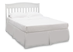 Delta Children White (100) Emery 4-in-1 Crib, Full-Size Bed Conversion a5a