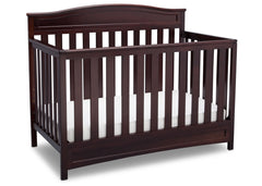 Delta Children Dark Chocolate (207) Emery 4-in-1 Crib, Crib Conversion b3b