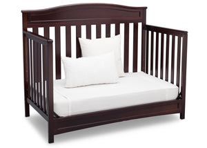 Delta Children Dark Chocolate (207) Emery 4-in-1 Crib, Day Bed Conversion b5b