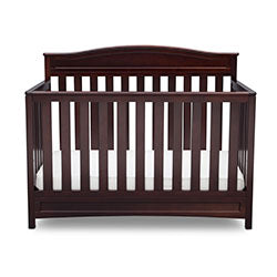 Emery 4-in-1 Crib (Dark Chocolate)