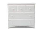 Delta Children Bianca (130) 3 Drawer Dresser (74103), Front View, c1c