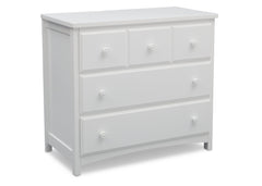 Delta Children Bianca (130) 3 Drawer Dresser (74103), Side View, c1c