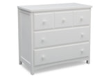 Delta Children Bianca (130) 3 Drawer Dresser (74103), Room Side View, c1c