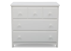 Delta Children Bianca (130) 3 Drawer Dresser (74103), Side View, c2c