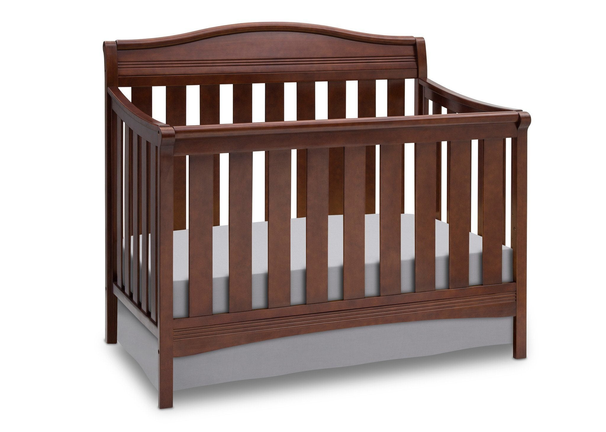 toddler included convertible mattress not wood cribs bed gray itm bcab frame crib in and