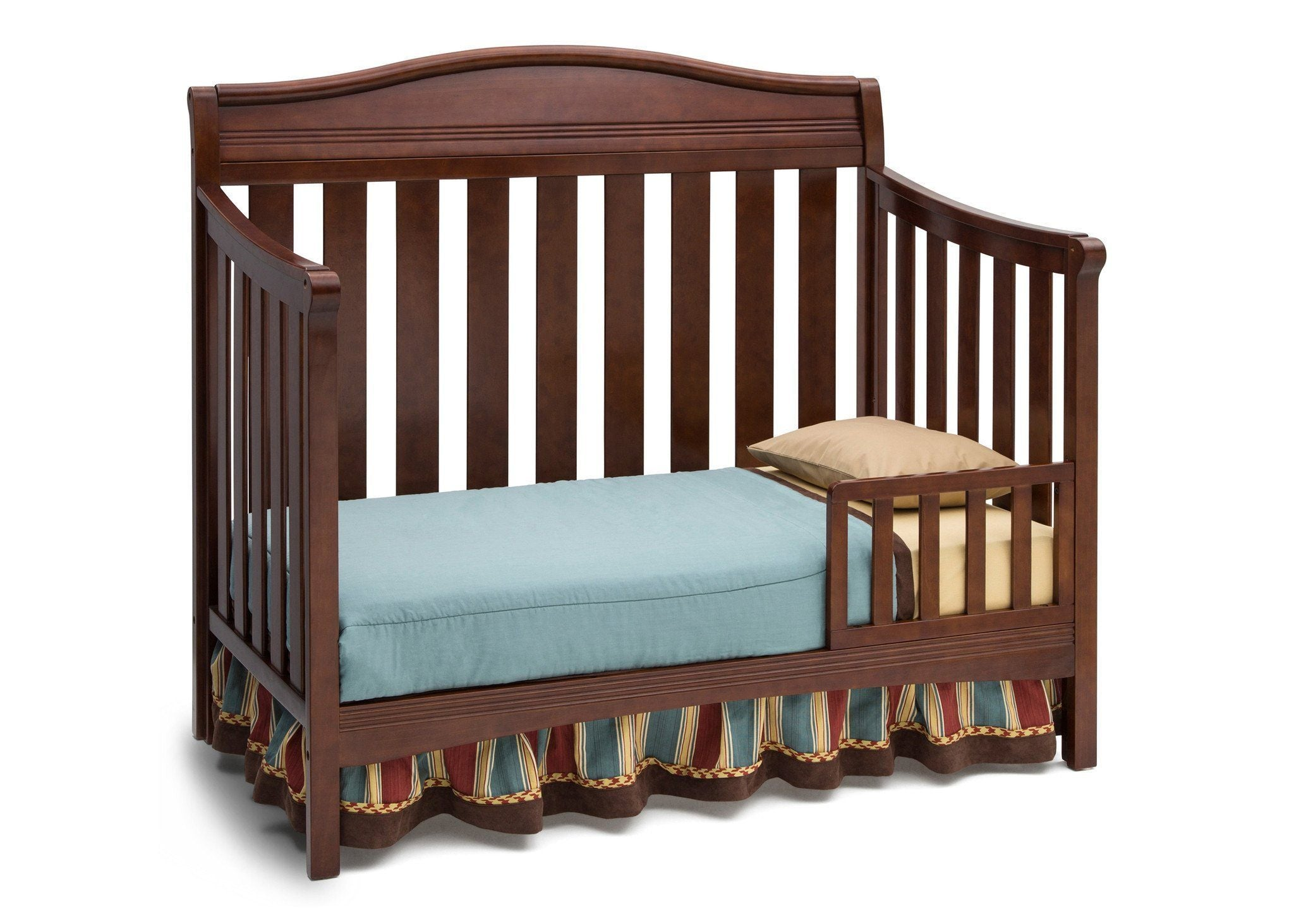 Delta Children Espresso Truffle 208 Summit 4 In 1 Crib Toddler