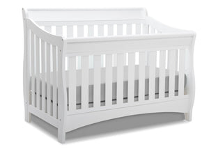 Delta Children White (100) Bentley 'S' Series 4-in-1 Crib, Crib Conversion a3a
