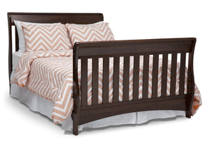 Delta Children Chocolate (204) Bentley 'S' Series 4-in-1 Crib, Full-Size Bed Conversion b5b