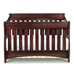 Delta Children Black Cherry Espresso (607) Bentley 'S' Series 4-in-1 Crib, Crib Conversion c2c