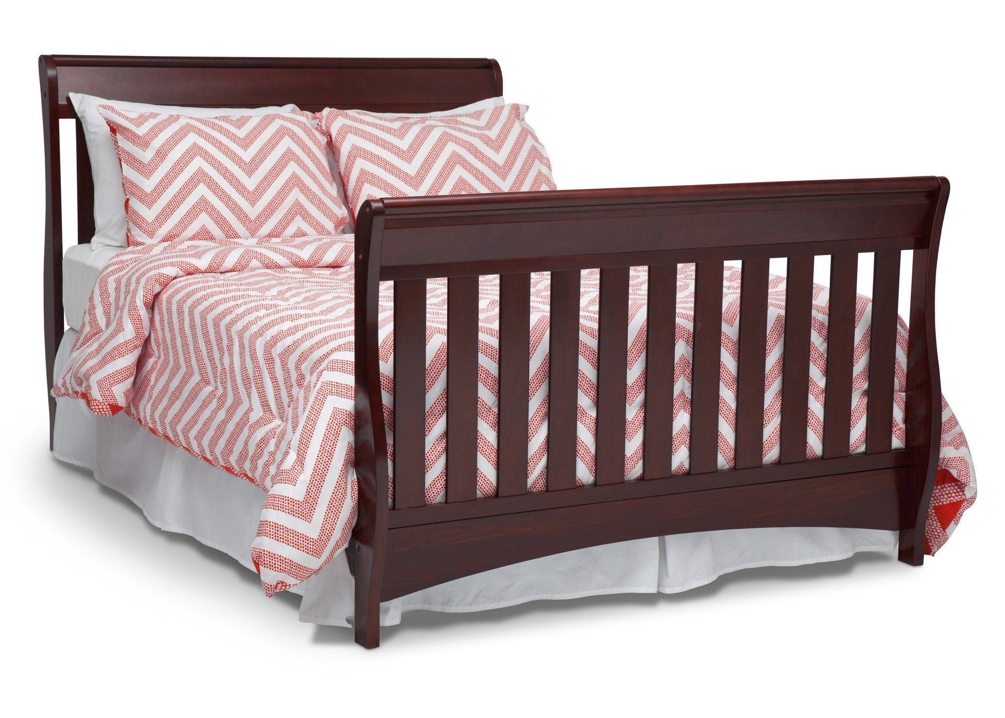 Delta Children Black Cherry Espresso (607) Bentley 'S' Series 4-in-1 Crib, Full-Size Conversion c6c