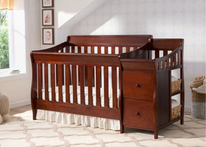 Bentley S Crib N Changer Black Cherry Espresso (607)