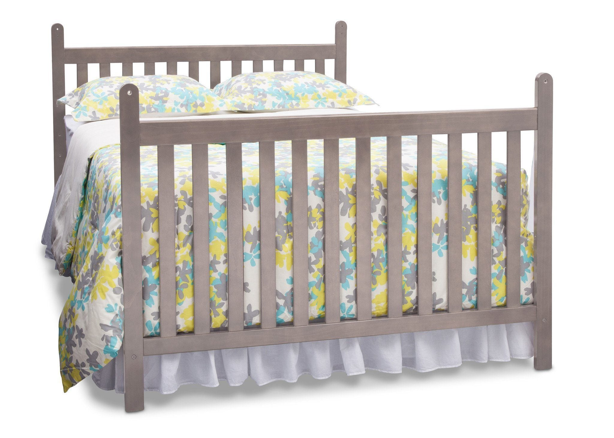 Delta Children Stained Grey (054) Cypress 4-in-1 Crib, Full-Size Conversion a4a