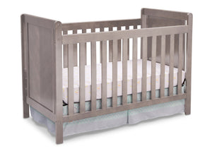 Delta Children Stained Grey (054) Cypress 4-in-1 Crib, Crib Conversion a1a