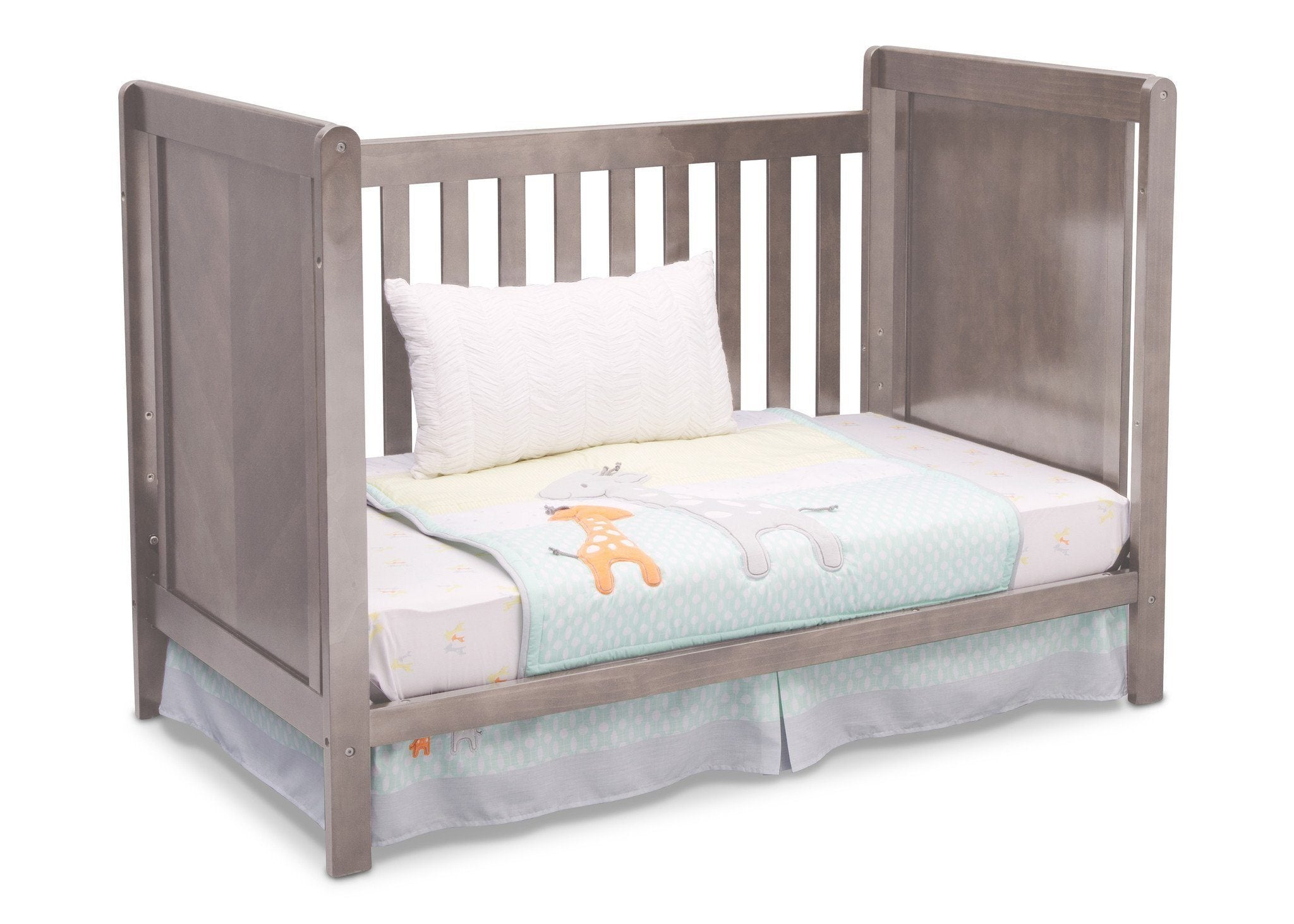 Delta Children Stained Grey (054) Cypress 4-in-1 Crib, Day Bed Conversion a3a