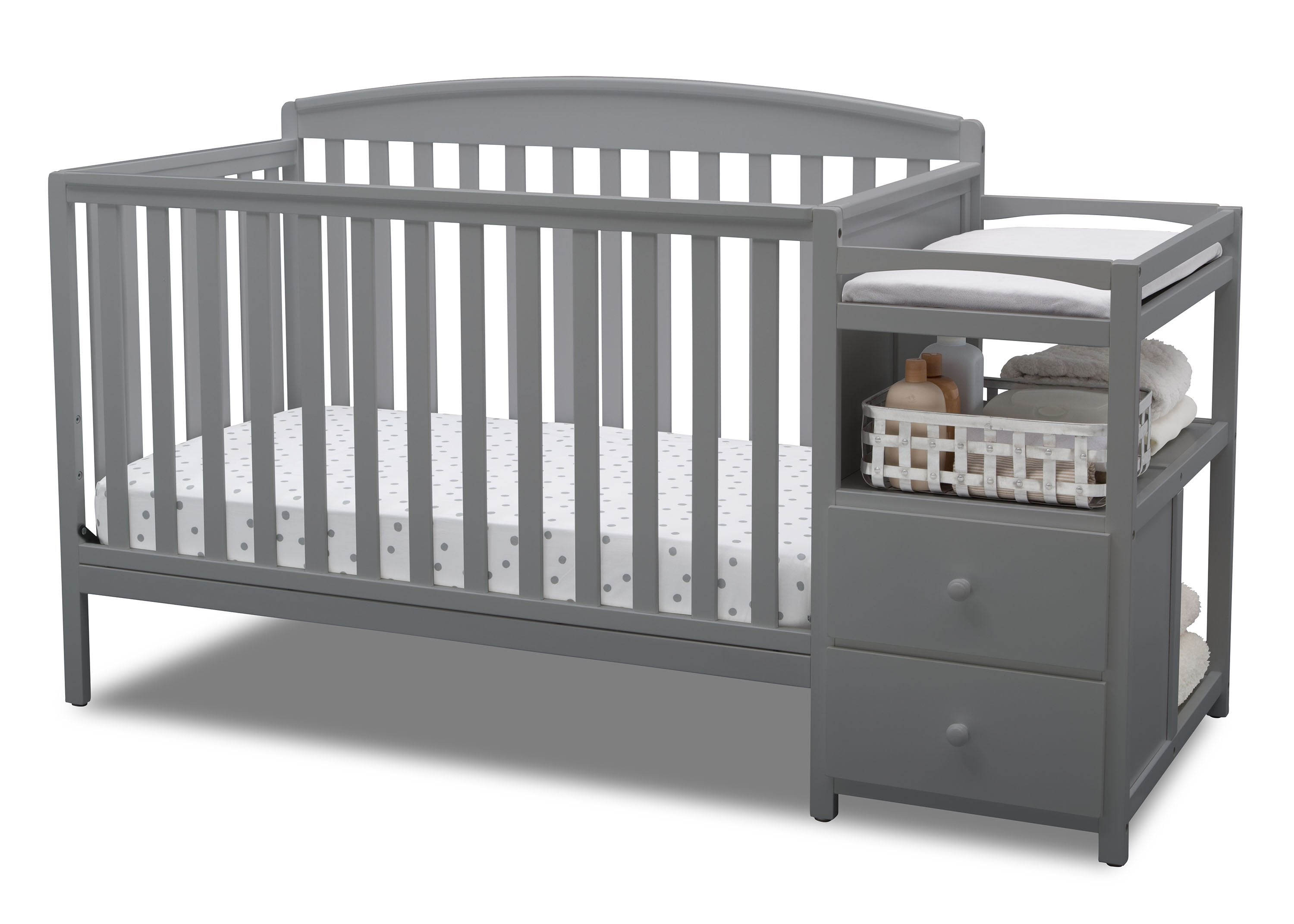 royal convertible crib n changer delta children