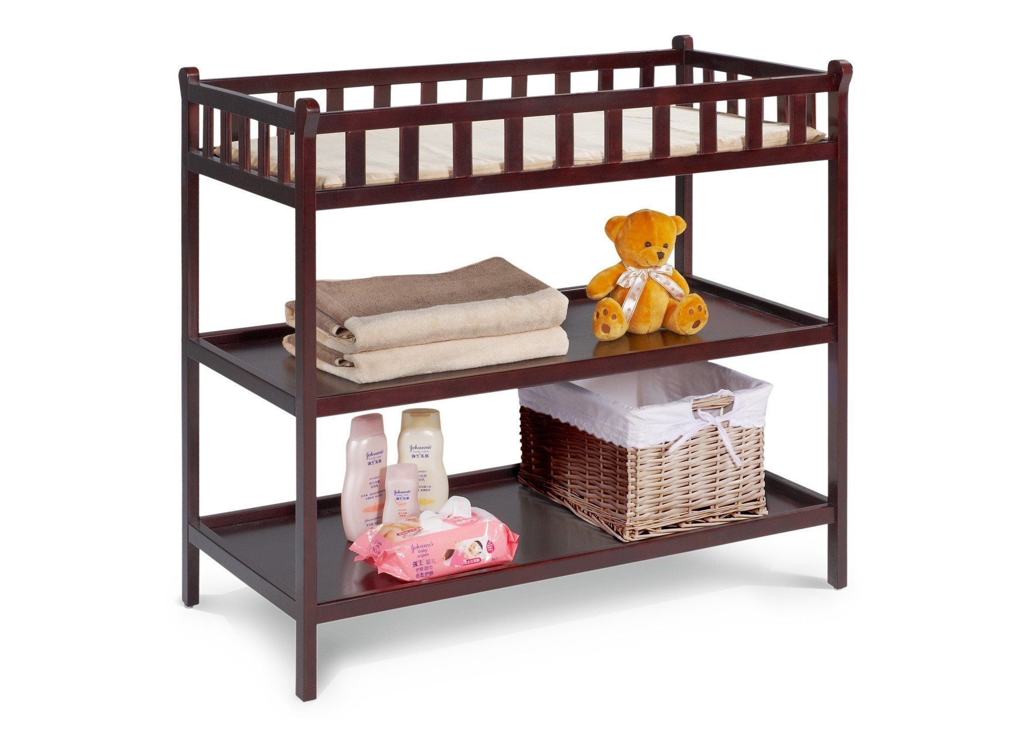 Delta Children Espresso (205) Charleston/Winter Park Changing Table b1b