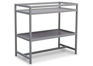 Delta Children Grey (026) Harbor Changing Table, Side View a2a