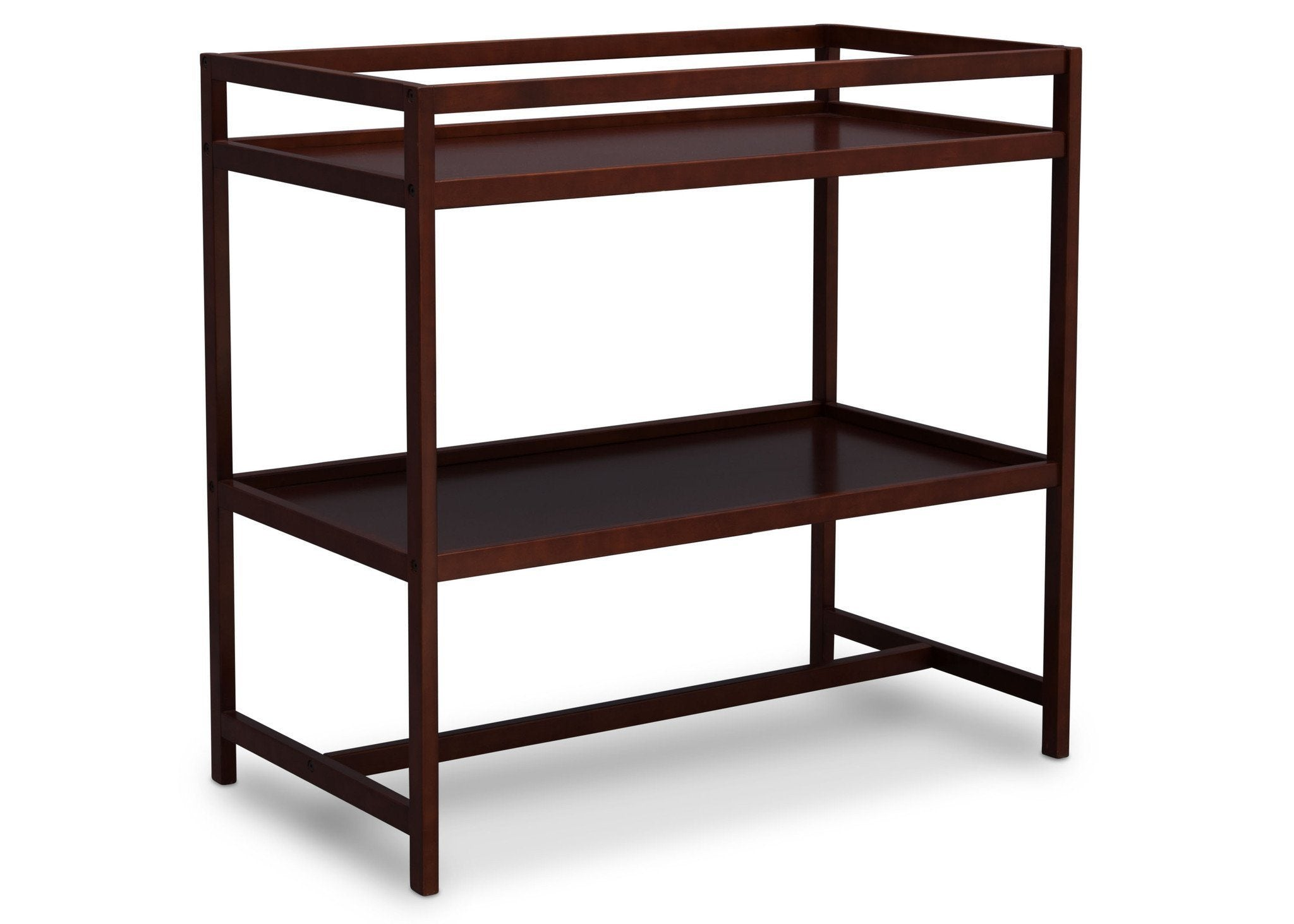 Delta Children Dark Chocolate (207) Harbor Changing Table, Side View c2c