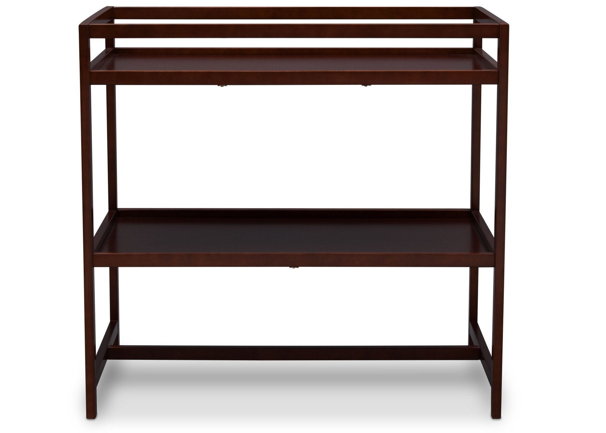 Delta Children Dark Chocolate (207) Harbor Changing Table, Front View c1c