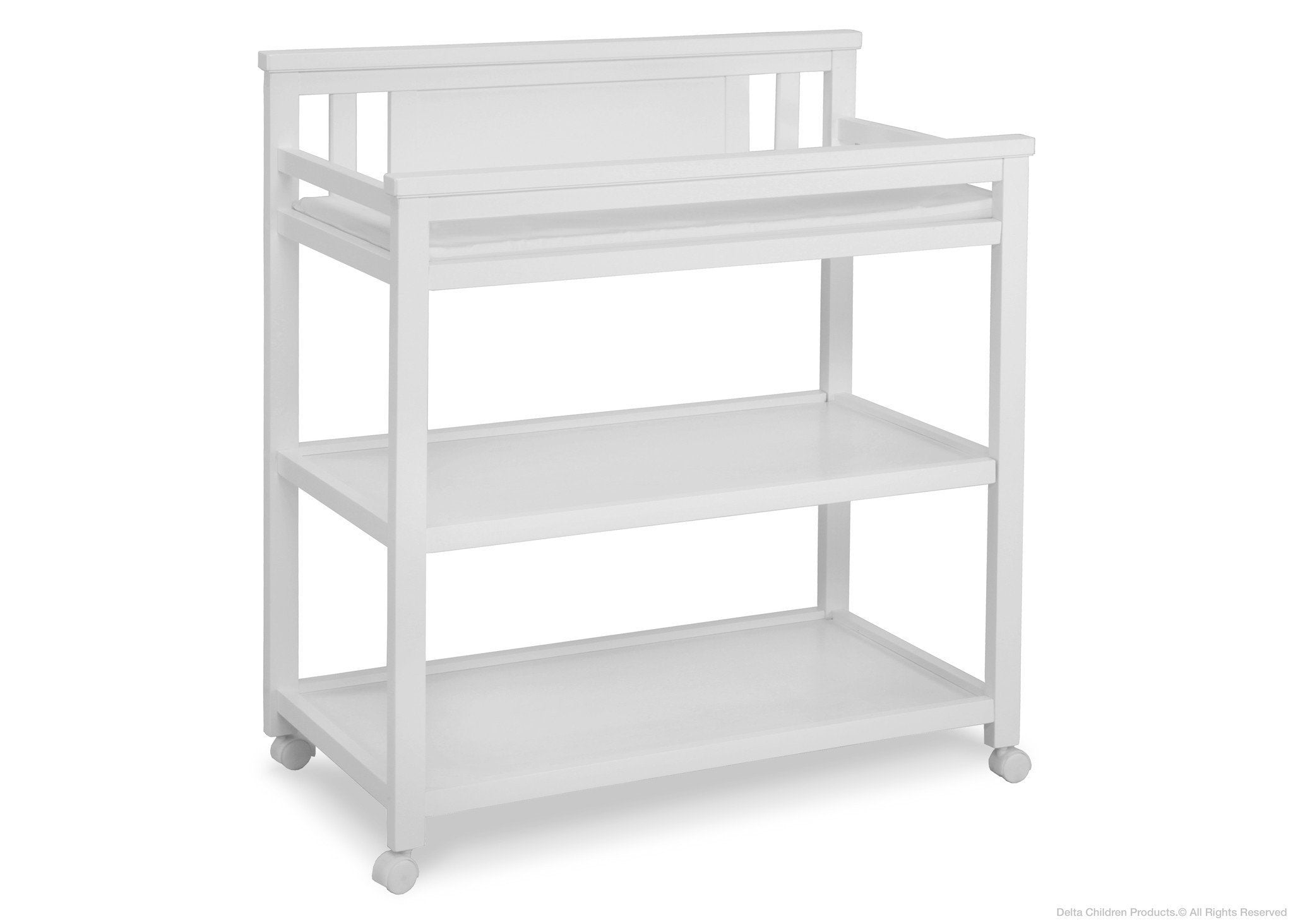 Delta Children White Ambiance (108) Bennington Changing Table a1a