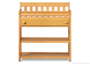 Delta Children Natural (260) Solutions Changing Table Front View b1b