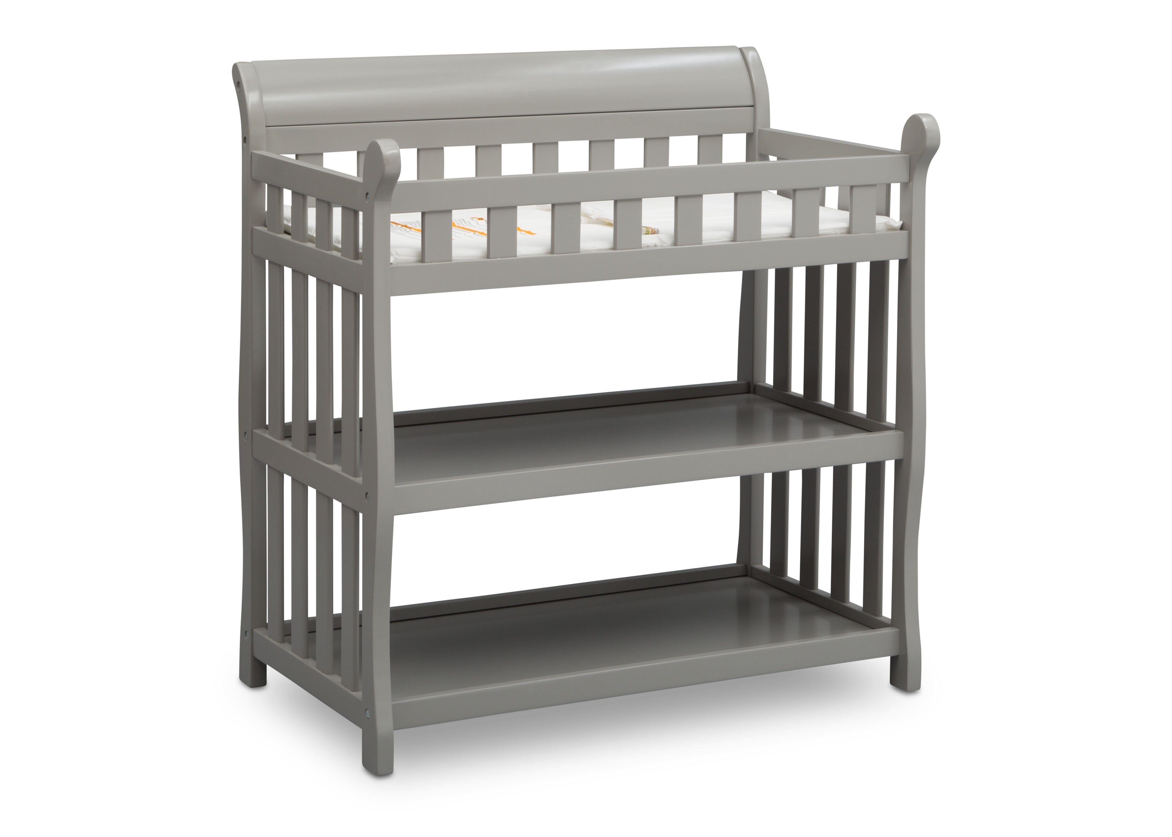 ... Delta Children Grey (026) Eclipse Changing Table Right Angle B3b