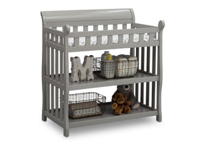 Delta Children Grey (026) Eclipse Changing Table Right Angle b3b