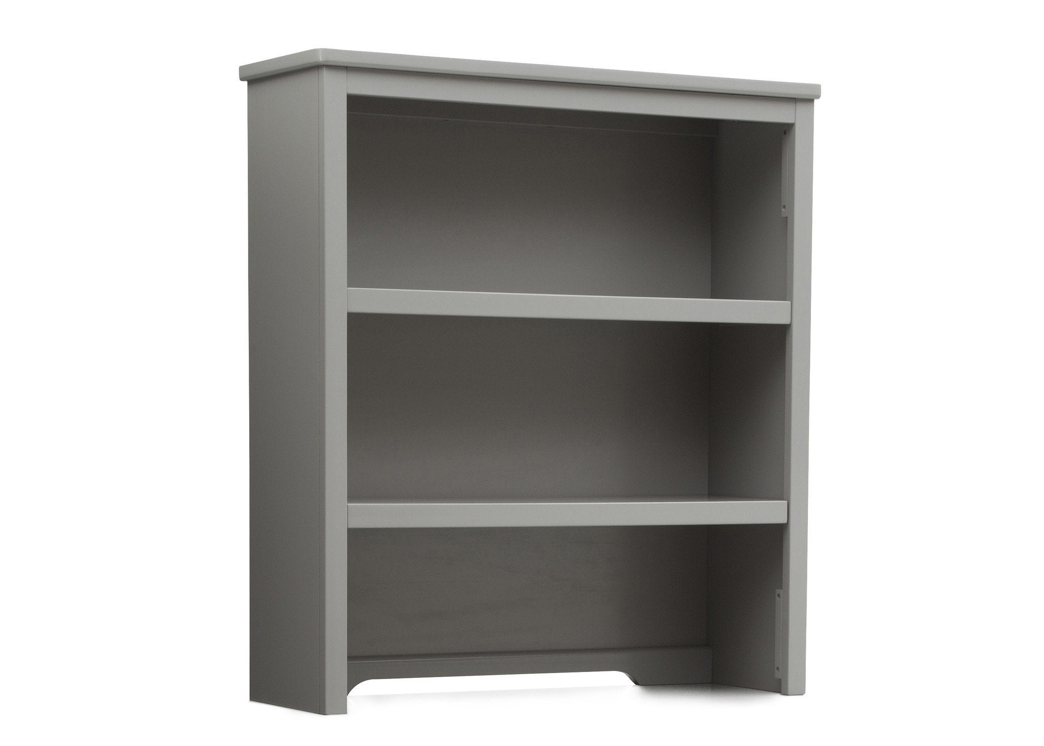 Delta Children Grey (026) Epic Bookcase/Hutch Side View a2a