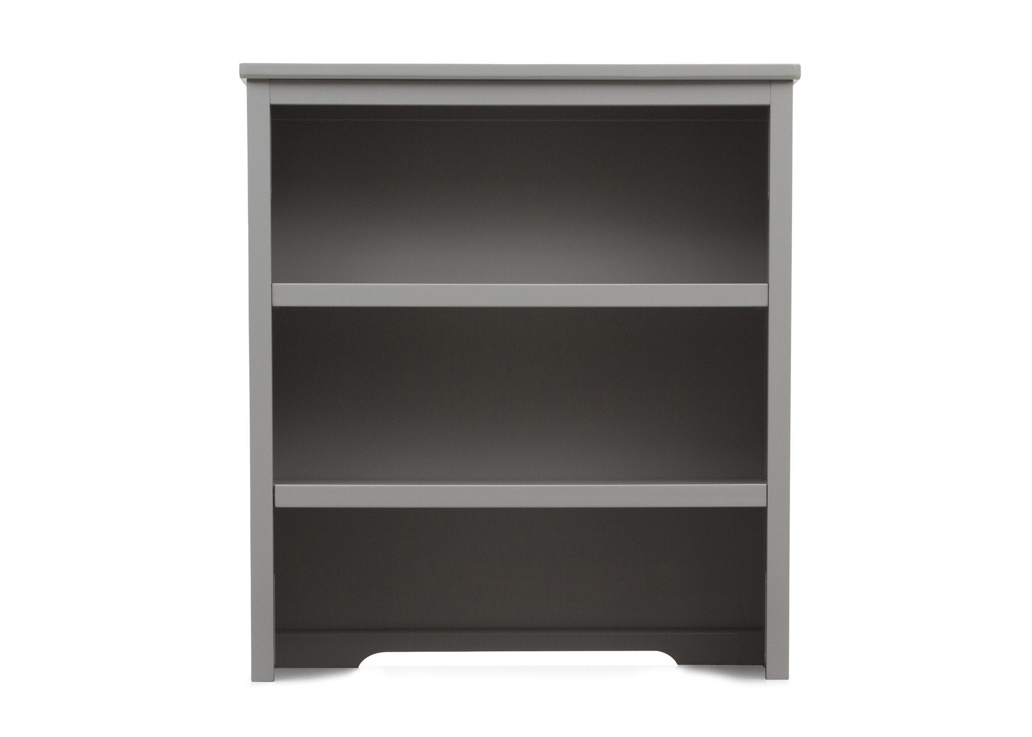 Delta Children Grey (026) Epic Bookcase/Hutch Front View with Base a1a