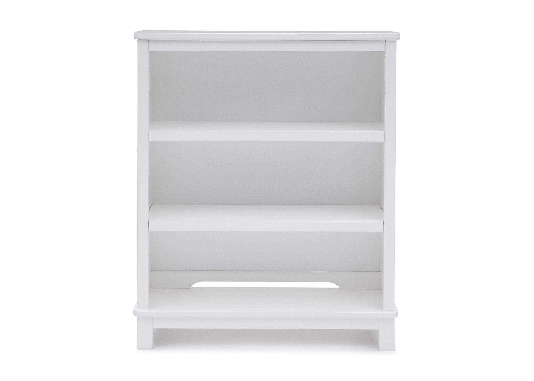 Delta Children White (100) Epic Bookcase/Hutch Front View b3b