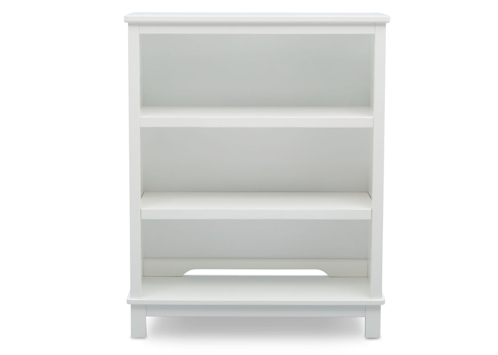 Delta Children Bianca (130) Epic Bookcase/Hutch Front View with Base