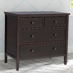 Epic 3 Drawer Dresser (Dark Chocolate)