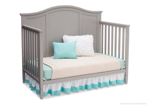 Delta Children Grey (026) Madrid 4-in-1 Crib, Day Bed Silo View