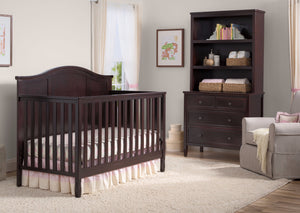 Madrid 4 in 1 Crib Dark Chocolate (207)