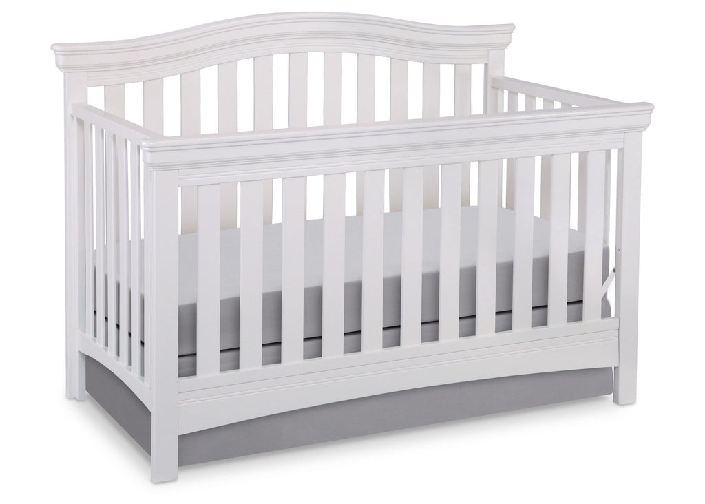 Solid Wood Full Size Conversion Kit Bed Rails For Baby Cache Cribs