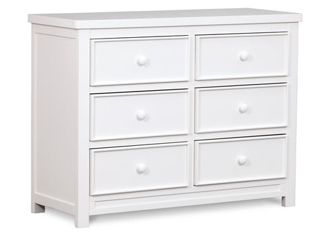 Bennington Sleigh 6 Drawer Dresser