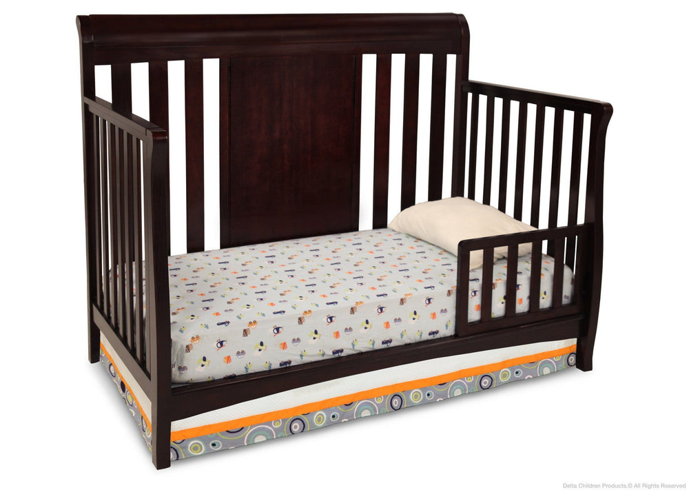 Bennington Sleigh 4 In 1 Crib Delta Children