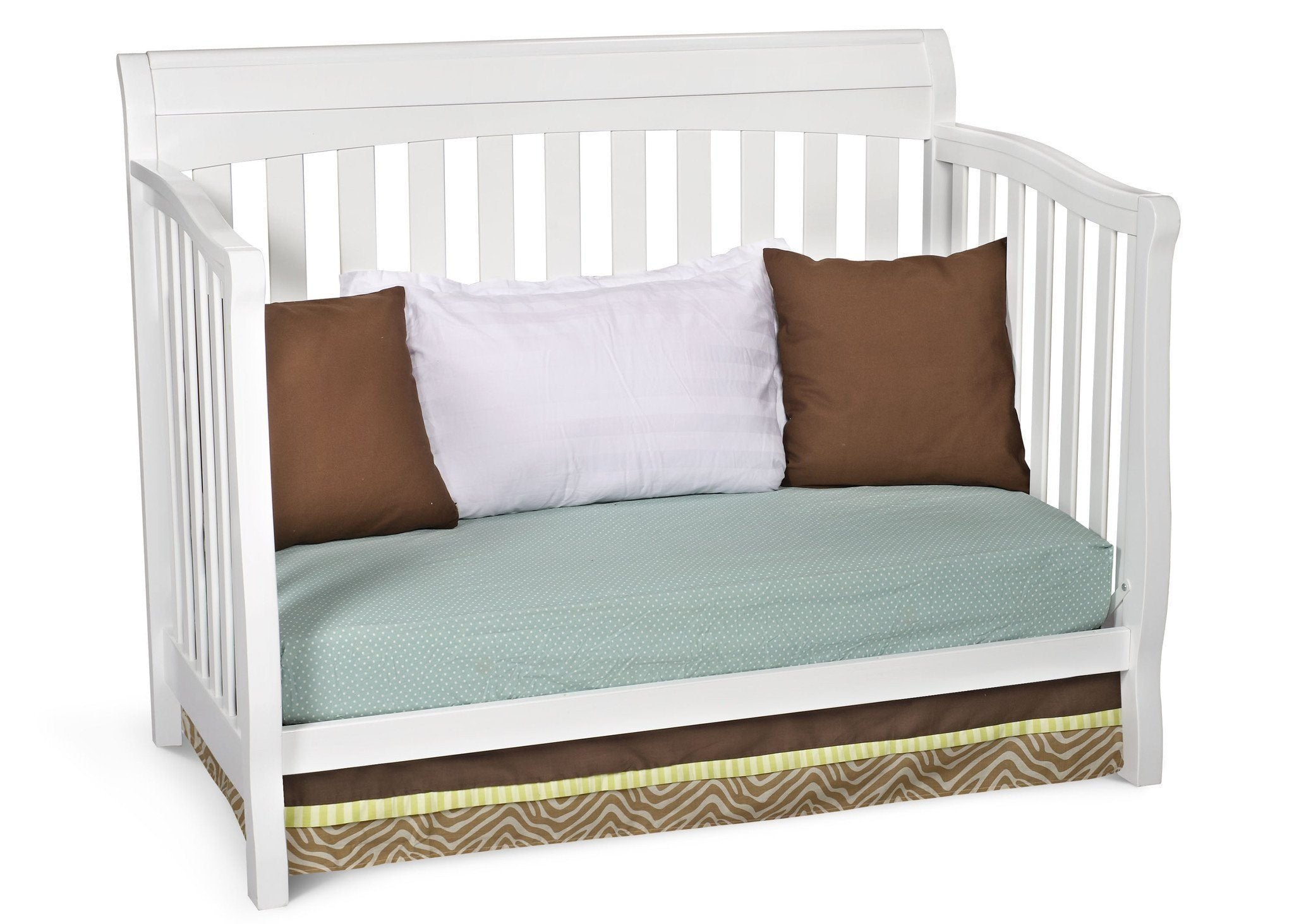 Delta Childrens White (100) Eclipse 4-in-1 Day Bed Conversion a4a