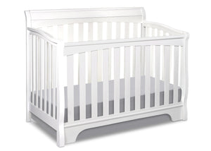 Delta Childrens White (100) Eclipse 4-in-1 Crib Conversion a2a